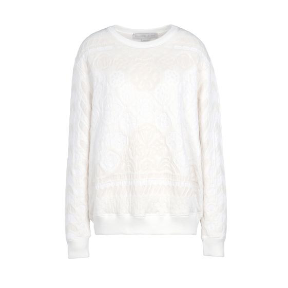 Stella McCartney, Calico Jacquard Sweat Long Sleeved Sweater