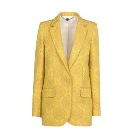 STELLA McCARTNEY, Tailleur, Veste Frazier en jacquard fluo