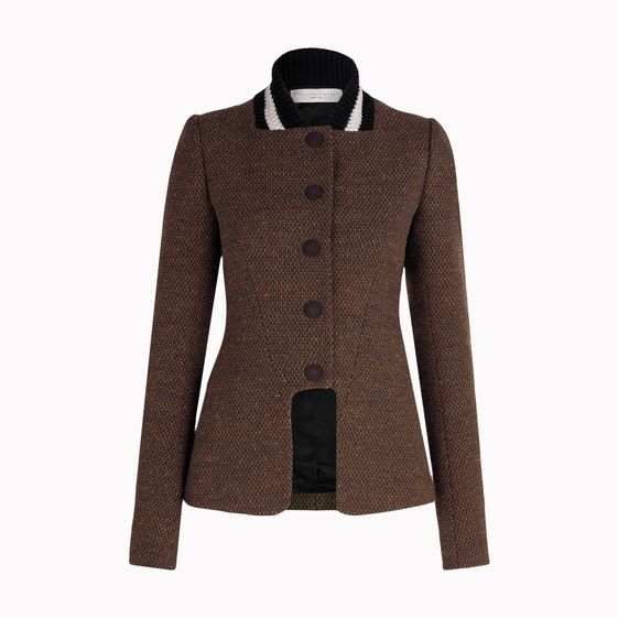 Stella McCartney, Jacke Iliana aus Stretch-Tweed