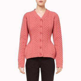 STELLA McCARTNEY, Cardigan, Felted Forms Vneck Cardigan