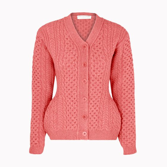Stella McCartney, Felted Forms Vneck Cardigan