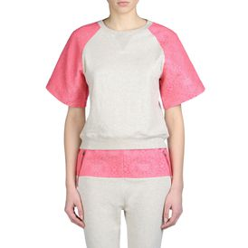 STELLA McCARTNEY, Sweatshirt, Kurzärmeliges Sweatshirt