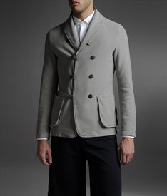 ARMANI COLLEZIONI - Double-breasted jacket