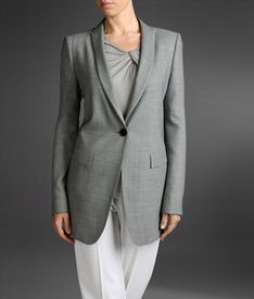 ARMANI COLLEZIONI - One button jacket
