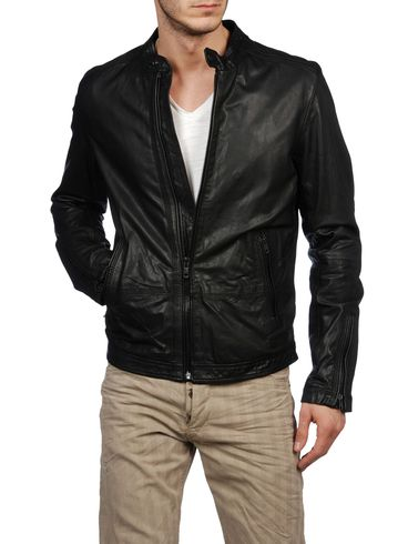 DIESEL - Leather jackets - LAGNUM