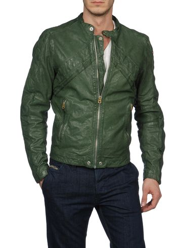 DIESEL - Leather jackets - LUMI