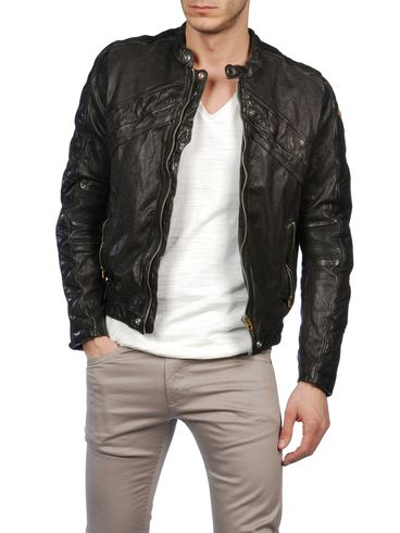 DIESEL - Veste de cuir - LUMI