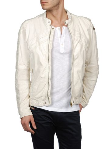 DIESEL - Chaqueta de piel - LUMI