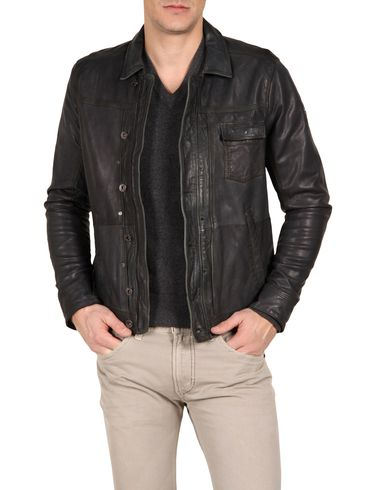 DIESEL - Leather jackets - LAURENCES
