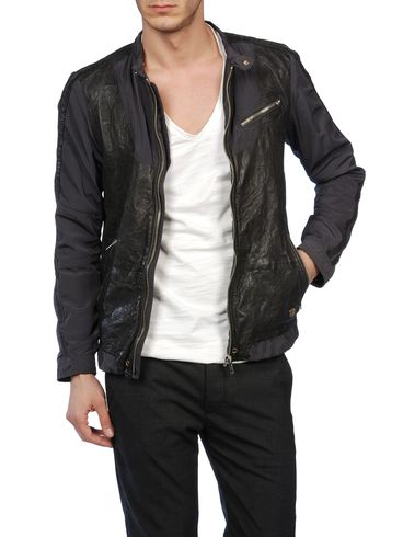 DIESEL - Leather jackets - LAREIA