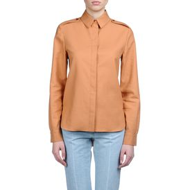 STELLA McCARTNEY, Chemise, Chemisier Hampstead en piqué de coton couleur chair