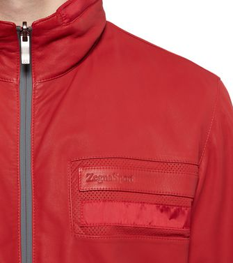 Capospalla pelle  ZEGNA SPORT