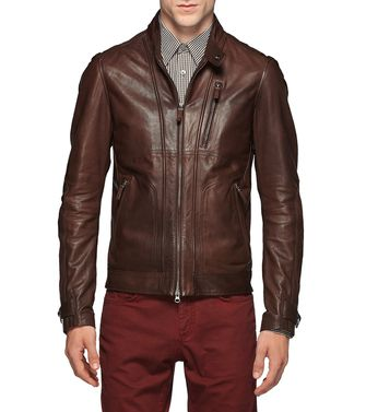 Leather outerwear  ZZEGNA