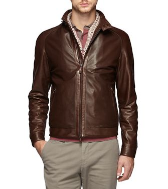 Manteau cuir  ERMENEGILDO ZEGNA