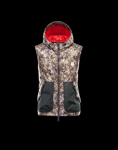MONCLER R Men - Spring-Summer 13 - OUTERWEAR - Vest - GREENSAND