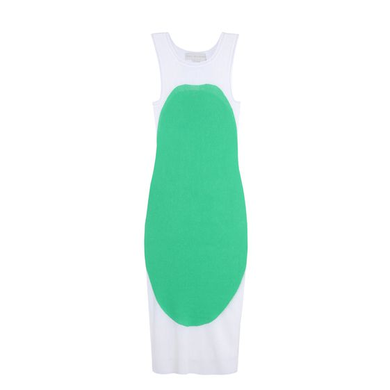 Stella McCartney, Intarsia Sleeveless Dress 