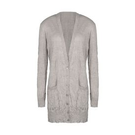 STELLA McCARTNEY, Cardigan, Silk V Neck Cardigan 