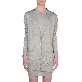 STELLA McCARTNEY, Cardigan, Cardigan in Seta con Scollo a V
