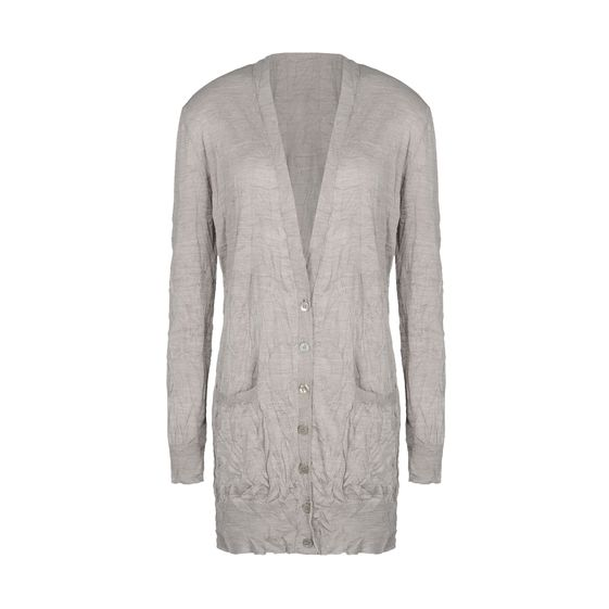 Stella McCartney, Cardigan in Seta con Scollo a V