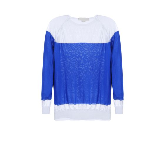 Stella McCartney, Silk Crew Neck Jumper