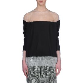 STELLA McCARTNEY, Sweater, Silk Crew Neck Jumper