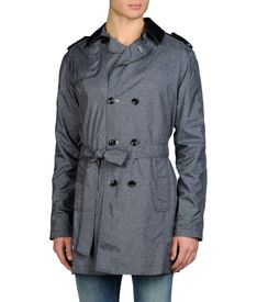 ARMANI JEANS - Double-breasted coat