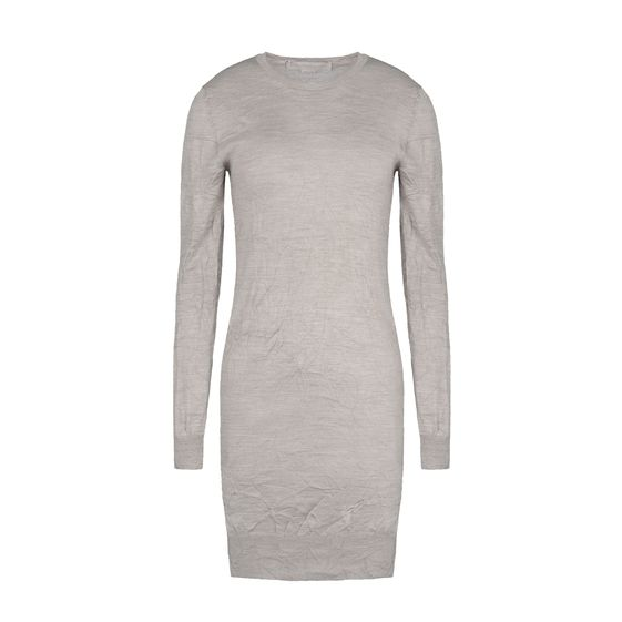 Stella McCartney, Silk Long Sleeves Dress 