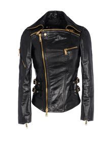 Leather outerwear - DSQUARED2