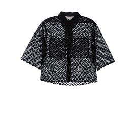 STELLA McCARTNEY, Shirt, Cutwork Embroidery Dore Shirt