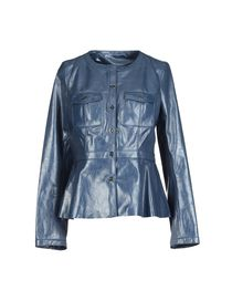 TORY BURCH - Leather outerwear