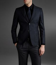 EMPORIO ARMANI - Two buttons jacket