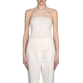 STELLA McCARTNEY, Sleeveless Sweater, Silk Sleeveless Top