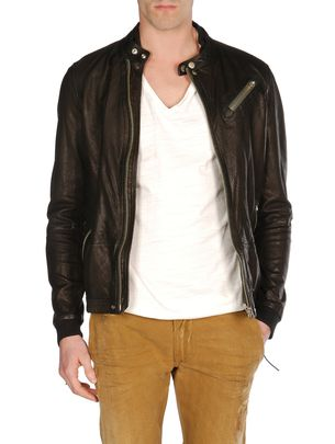 Diesel Leather Jackets - Lohar - Item 413