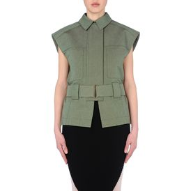STELLA McCARTNEY, Short, Utility Tweed Georgina Jacket