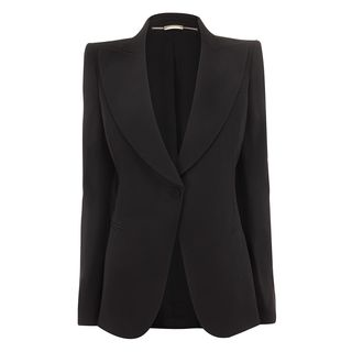 ALEXANDER MCQUEEN, Jacket, Crepe 1-Button Jacket