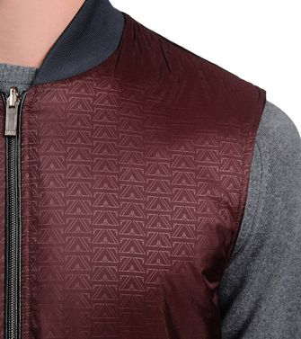 ZEGNA SPORT: Fabric Jacket Maroon - 41375025NB