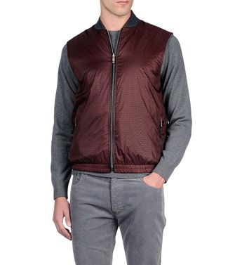 ZEGNA SPORT: Fabric Jacket Black - Dark brown - 41375025NB