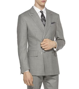 ERMENEGILDO ZEGNA: Formal Jacket Steel grey - 41375035KS