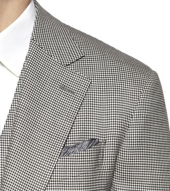 ERMENEGILDO ZEGNA: Formal Jacket Grey - 41375037GI