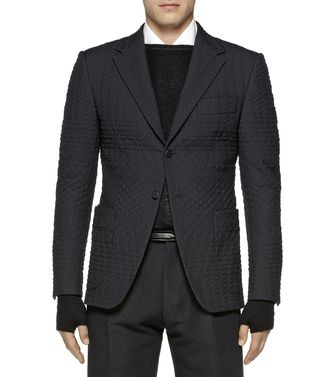 ZZEGNA: Chaqueta formal Negro - 41375053DO