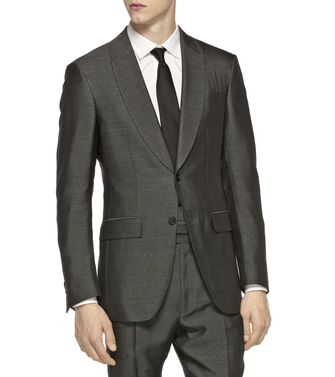 ERMENEGILDO ZEGNA: Formal Jacket Steel grey - 41375059LU