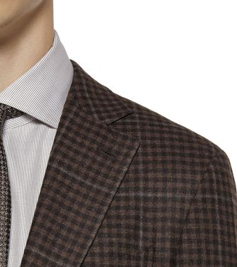 ERMENEGILDO ZEGNA: Formal Jacket Grey - 41375060BL