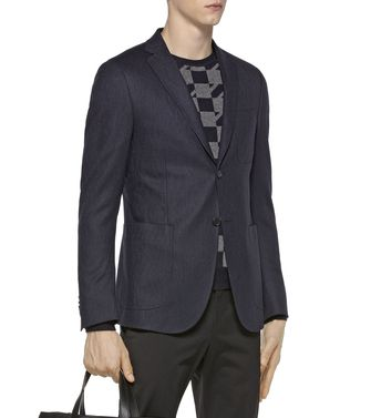 ZZEGNA: Formal Jacket Blue - 41375097SD