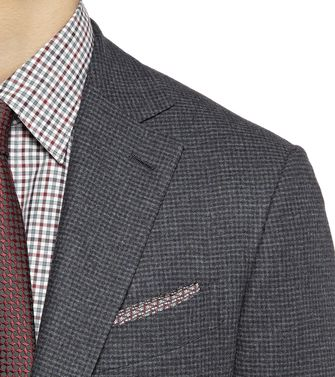 ERMENEGILDO ZEGNA: Formal Jacket Grey - 41375102UJ
