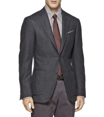 ERMENEGILDO ZEGNA: Formal Jacket Dark green - 41375102UJ