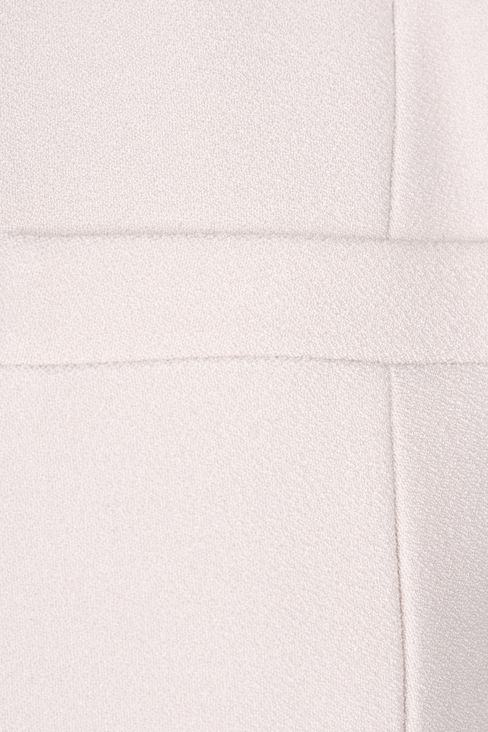 LONG CREW NECK JACKET IN CRÊPE: Dinner jackets Women by Armani - 4