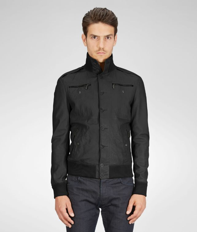 Nero Washed Fine Nappa Blouson