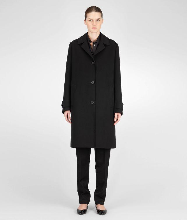 BOTTEGA VENETA Nero Cashmere Coat Coat or Jacket D fp