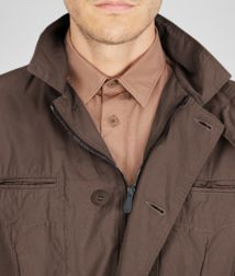 BOTTEGA VENETA - Coats and Jackets, Edoardo Washed Light Cotton Trench