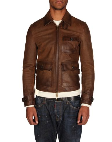 DSQUARED2 - Leather outerwear